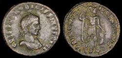 Ancient Coins - Crispus Follis - PRINCIPA IVVENTVTIS - Thessalonica Mint
