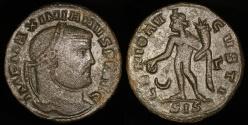 Ancient Coins - Galerius Follis - GENIO AVGVSTI - Siscia Mint
