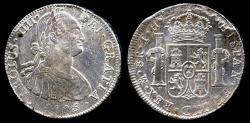 World Coins - 1805 MoTH Mexico 8 Real AU
