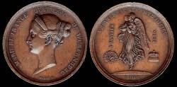 World Coins - 1839 France - Marie de France Duchesse de Wurtemberg Death Medal