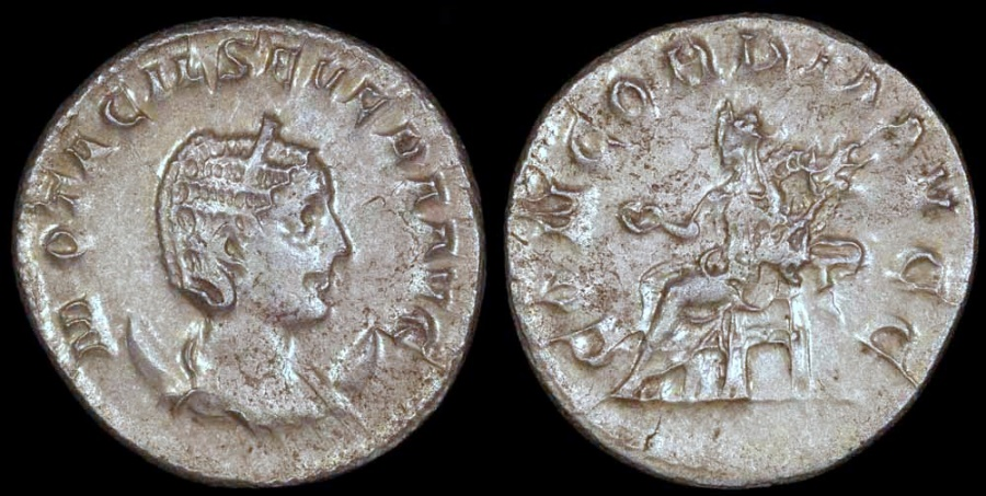 Ancient Coins - Otacilia Severa Antoninianus - CONCORDIA AVG - Rome Mint