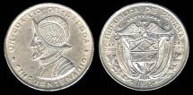 World Coins - 1953 Panama 1/4 Balboa BU