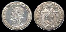World Coins - 1953 Panama 1/10 Balboa BU
