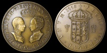 World Coins - 1558 France - Francis II of France and Mary I of Scotland Marriage Medal
