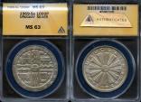 World Coins - 1969 So Uruguay 1000 Pesos - Silver F.A.O. Issue - ANACS MS63
