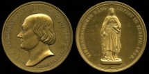 World Coins - 1851 Switzerland (Zurich) – Zurich Federal Song Festival