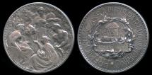 World Coins - 1880  Italy - Turin Savings Bank Prize Medal