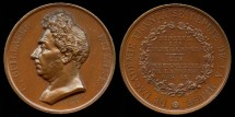 World Coins - 1835 France -  Charles-Guillaume Étienne Death Medal