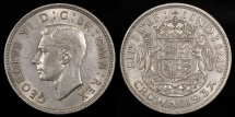 World Coins - 1937 Great Britain 1 Crown - George VI - AU