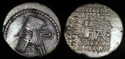 Ancient Coins - Gotarzes II Drachm (40-51 AD) - Ecbatana Mint