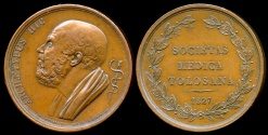 World Coins - 1827  France - Toulouse Medical Society