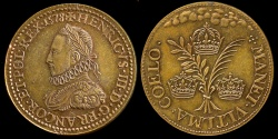 World Coins - 1578  France - King Henri III -  The Source of Power of Henri the III by Germain Simon