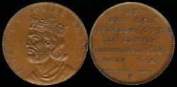 World Coins - 1829 France - Thierri I Roi De France