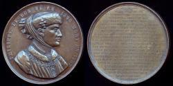 World Coins - 1848  Belgium - Philip the Good, Dutch, Duke of Burgundy as Philip III, capturer of Joan of Arc by Adolphe Christian Jouvenel