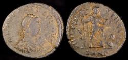 Ancient Coins - Arcadius Ae2 - VIRTVS EXERCITI - Nicomedia Mint