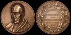 "Us Coins - 1841 William Henry Harrison ""Inauguration Medal"" - Ninth President of the United States (March 4, 1841 to April 4, 1841) - Original US Mint Medal by George T. Morgan"