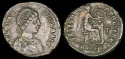 Ancient Coins - Aelia Flaccilla Ae2 - SALVS REIPVBLICAE - Antioch Mint