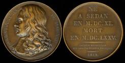 World Coins - 1819 France - Henri de la Tour d'Auvergne, Vicomte de Turenne