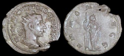 Ancient Coins - Trebonianus Gallus Antoninianus - ANNONA AVGG - Rome Mint