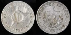 World Coins - 1920 Cuba 1 Centavo - 1st Republic - VF