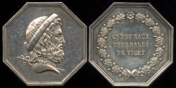 World Coins - 1845  France - Jeton - Thermal Waters Spa at Vichy