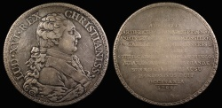 World Coins - 1788 France - Louis XVI - Laudatory medal to the Assembly of Notables (1787-1788) lauding Archbishop Arthur Richard Dillon of Toulouse and Cardinal Étienne Charles de Loménie