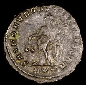 Ancient Coins - Constantius I Follis - SAC MON VRB AVGG ET CAESS NN - Rome Mint