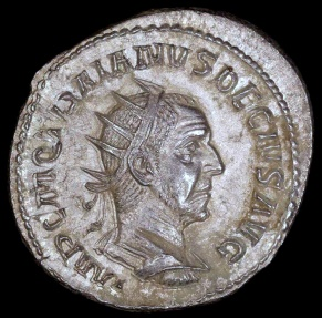Ancient Coins - Trajan Decius Antoninianus - ADVENTVS AVG - Rome Mint