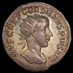 Ancient Coins - Gordian III  Ar Antoninianus - ROMAE AETERNAE - Rome Mint