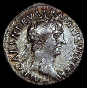 Ancient Coins - Trajan Denarius - PONT MAX TR POT COS II - Rome Mint