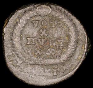 Ancient Coins - Julian II Ae3 - VOT X MVLT XX - Antioch Mint