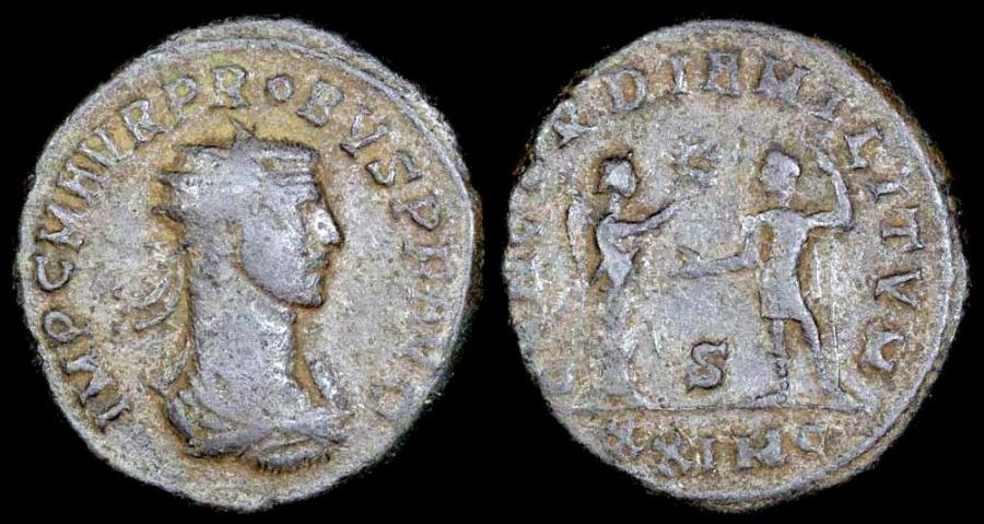 Ancient Coins - Probus Antoninianus - CONCORDIA MILITVM - Cyzicus Mint