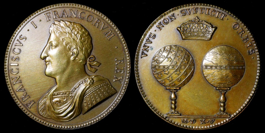 World Coins - 1515 France - King Francis I - The Concordance