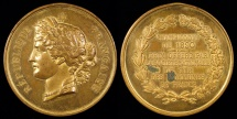 World Coins - 1890 France - National Society of France's Communities Contest Shooting Prize Medal by Eugène André Oudiné