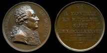 World Coins - 1817  France - Georges-Louis Leclerc, Comte de Buffon, French naturalist, mathematician, cosmologist, and encyclopedic author by Jacques-Édouard Gatteaux