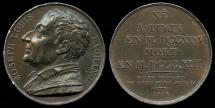 World Coins - 1816 France - Joseph Louis La Grange (a Italian born, French mathematician and astronomer) by Donadio