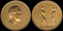 1850 Millard Fillmore - US Mint Medal