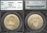 World Coins - 1938 Hungary 5 Pengo SEGS MS61