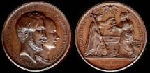 World Coins - 1841 France - Baptism Comte de Paris