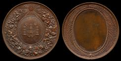 World Coins - 1890 - Belgium – Royal Society of Horticulture and Agriculture Award Medal
