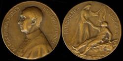World Coins - 1914 Belgium - National Hommage of Cardinal Mercier