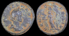 Ancient Coins - Severina Ae Denarius - VENVS FELIX - Rome Mint