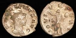 Ancient Coins - Gallienus Antoninianus - IOVI VLTORI - Rome Mint