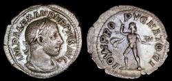 Ancient Coins - Severus Alexander Denarius - IOVI PROPVGNATORI - Rome Mint