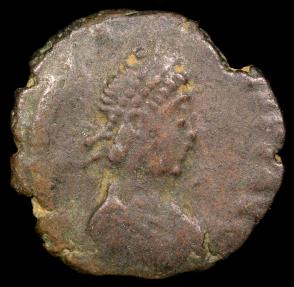 Ancient Coins - Arcadius 1/2 Centenionalis - SALVS REIPVBLICAE - Heraclea Mint