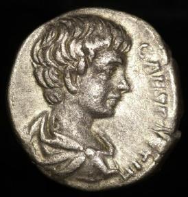 Ancient Coins - Caracalla Denarius MART IVL TORI - Rome Mint