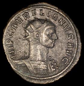 Ancient Coins - Aurelian Antoninianus - ORIENS AVG - Serdica Mint