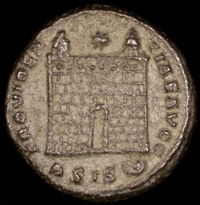 Ancient Coins - Constantine I Ae3 - PROVIDENTIAE AVGG - Siscia Mint
