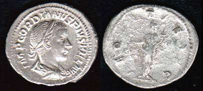 Ancient Coins - Gordian III Antoninianos - AEQVITAS AVG - Rome Mint