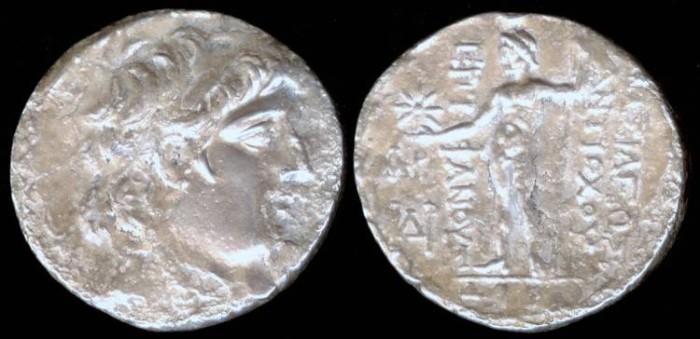 Ancient Coins - SELEUCIA, Antiochos VIII (118-117 BC) Ar Tetradrachm